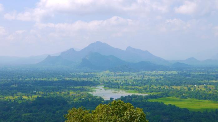 Sri lanka sigiriya zoom panorama est