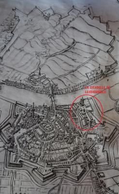 Tour de l'Isle dans les fortifications Lesdiguieres