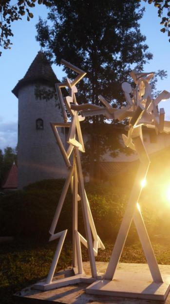 Saint-Jean de Chépy - 10e symposium de sculpture en 2017