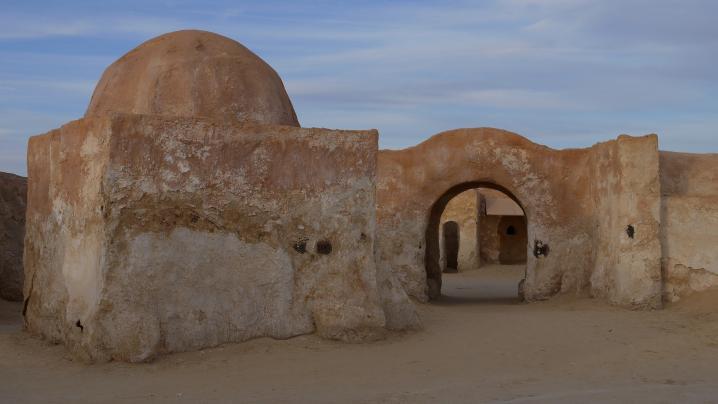 Tunisie - Entrée de Mos Espa