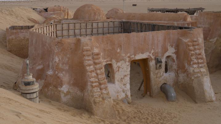 Tunisie - Mos Espa, des maisons sans toit