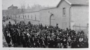 Voiron paviot greves 1906 jb martin
