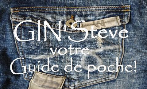 GIN'Steve, votre guide de poche, ce sont...