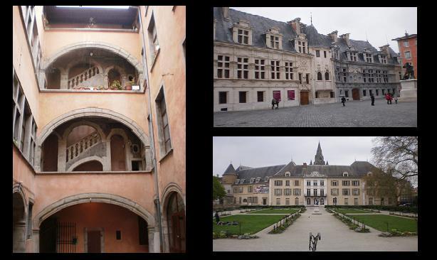 ... des visites du coeur historique de Grenoble...