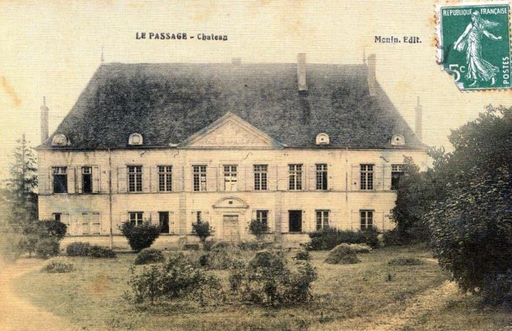 Le Passage - Château (carte postale)