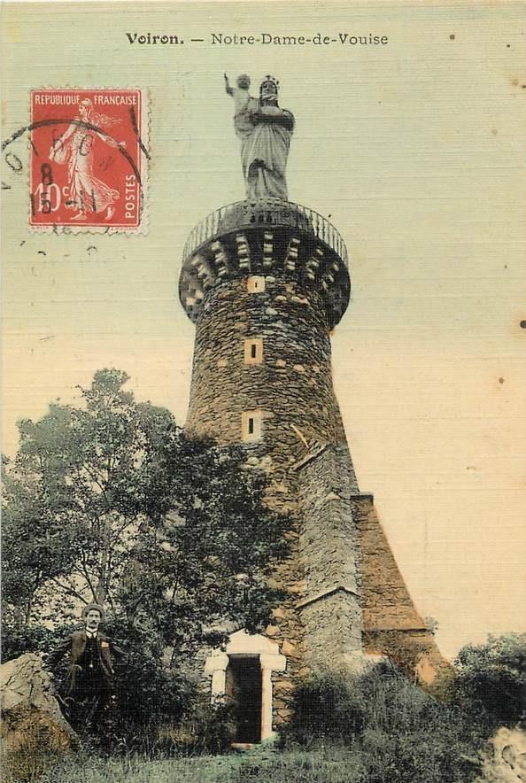 Voiron - Notre Dame de Vouise - Carte postale couleur